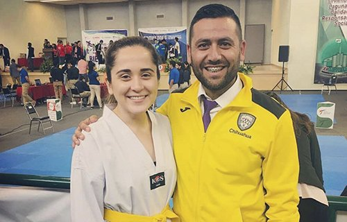 Integrante del equipo de Tae Kwon Do calificó al paralímpico de Estambul